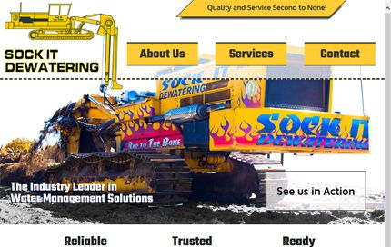 Thumbnail of website for Sock It Dewatering