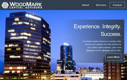Thumbnail of website for WoodMark Capital Advisors